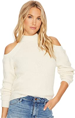 Jack by BB Dakota - Mai Cold-Shoulder Turtleneck Sweater