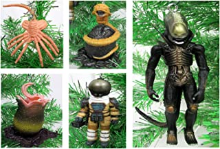 Alien vs Predator Christmas Tree Ornament Set - 3
