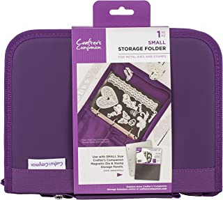 Crafter's Companion CC-STOR-DIE-S Folder-Small Die & Stamp Storage, Purple