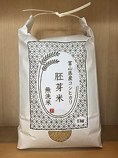富山県産 胚芽米無洗米 となみ野米 コシヒカリ 5kg 令和元年産