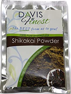 Davis Finest Shikakai acacia Concinna sapone pod polvere – sapone naturale shampoo e pulizia profonda conditioner Brillian...