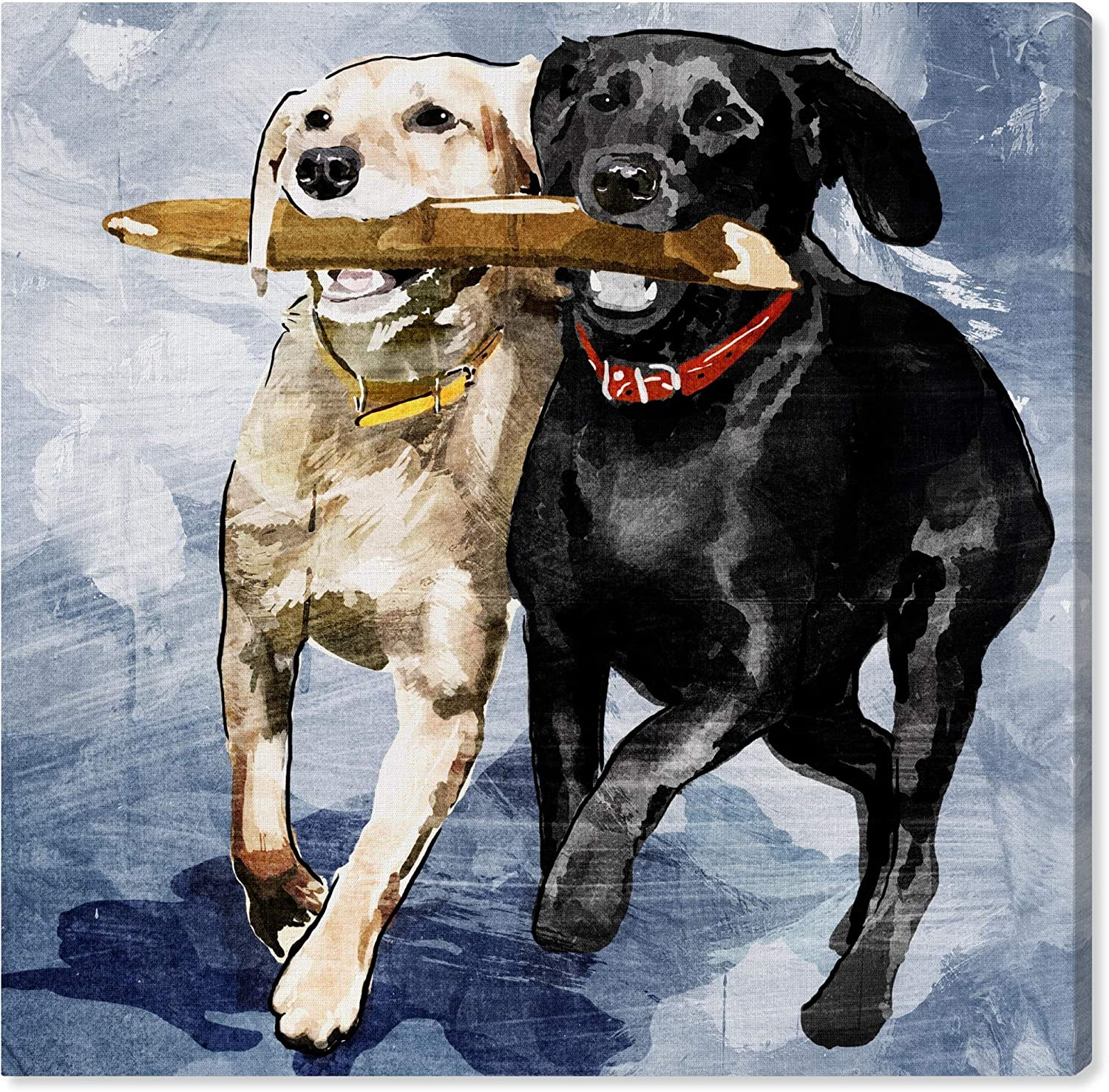 The Oliver Gal Artist Co. Now free shipping Animals Art Prints Wall 'Playti Ranking TOP2 Canvas