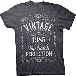 34th Birthday Gift T-Shirt - Vintage 1985 Top Notch Perfection