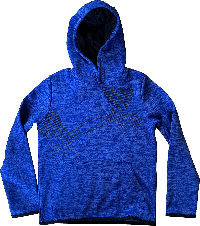 Under Armour Brand Cheap Sale Venue Boys ColdGear Colorado Springs Mall Pullover Fit Logo Loose Lined Fleece