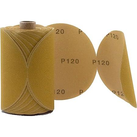 Sanding Disc Aluminum Oxide Adhesive Back Sandpaper 25 Pcs Sandpaper