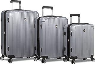 Dejuno Atlas 3-Piece Hardside Spinner Tsa Combination Lock Luggage Set