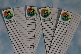 "Rite In The Rain Geocaching Log Sheets - Four 3/4"" DOUBLE-SIDED"