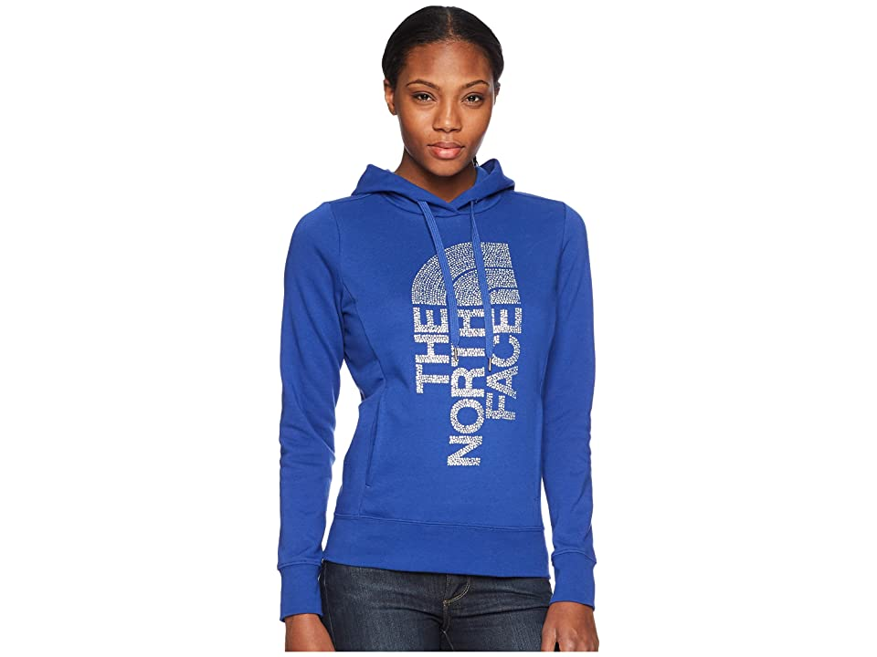 The North Face Trivert Pullover Hoodie (Brit Blue/Silver Foil) Women