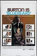 BLUEBEARD original 1972 27x41 one sheet movie poster RICHARD BURTON/RAQUEL WELCH/VIRNA LISI/JOEY HEATHERTON