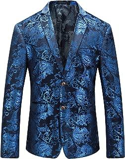 Royal Blue Blazer Men