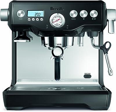 Breville BES920BSXL Dual Boiler Espresso Machine, Black Sesame, 14.7 inches x 14.8 inches x 14.7 inches