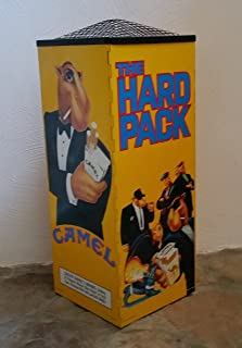 Joe Camel The Hard Pack Cigarettes Tobacco Metal 4-sided Ashtray 28