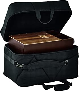 Meinl Cajon Box Drum Bag-Professional Large Size with Heavy Duty Padded Nylon Exterior, Shoulder Strap and Strong Carrying Grip, (MCJB-L)