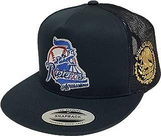 Rieleros de Aguascalientes Logo Federal a lado 2 Logos hat Navy mesh