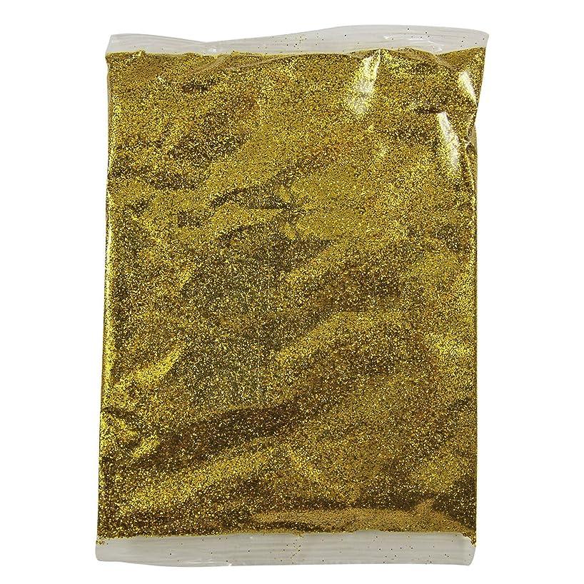 暗くする繰り返した陸軍FidgetGear 100グラムホログラフィック虹色グリッターファインダストネイルアートパウダーワイングラス工芸 ゴールド