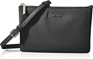 Calvin Klein Damen Ck Must Ew Dbl CPT Xbody Crossovers, M