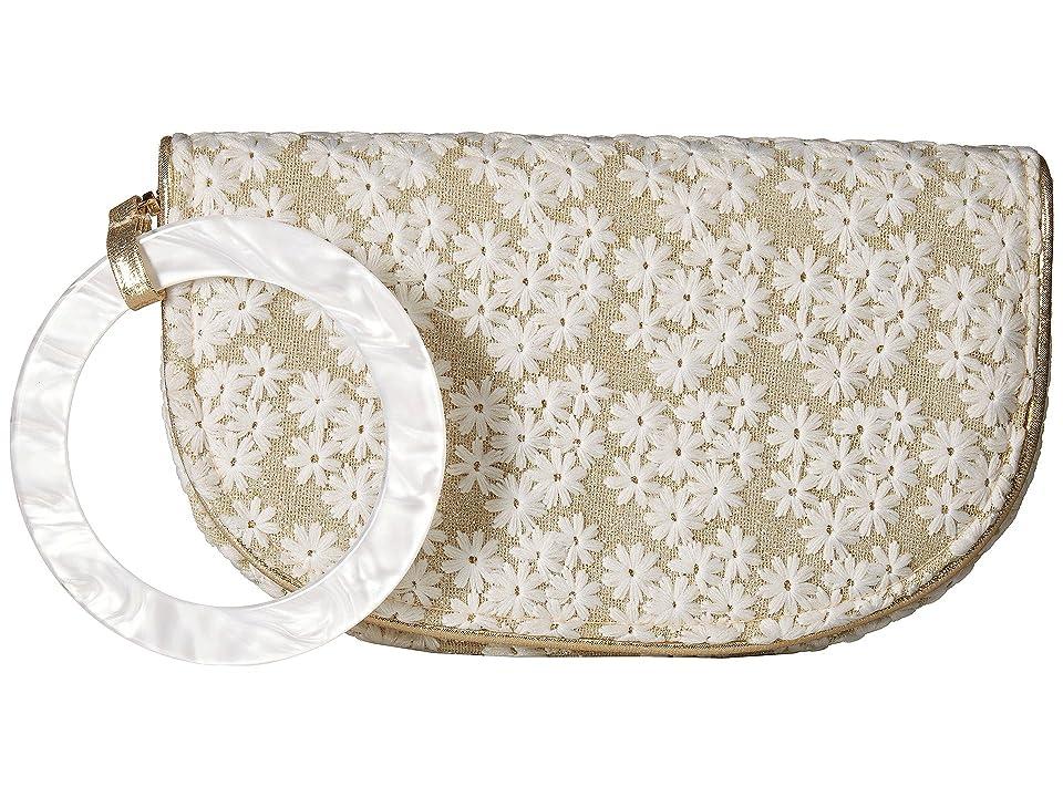 Nina Decatur (Gold) Wristlet Handbags