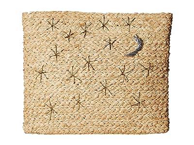 Hat Attack Celestial Clutch (Natural) Clutch Handbags