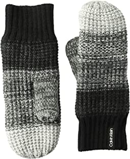 Ombre Knit Infinity Mittens