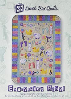 Lunch Box Quilts 93-3409 Everything Baby Pattern