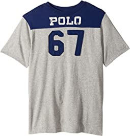 Polo Ralph Lauren Kids - Cotton Jersey Graphic T-Shirt (Big Kids)