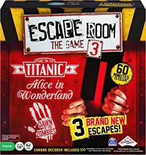 Escape Room Version 3 Board Game, for Adults and Kids Ages 16 and up