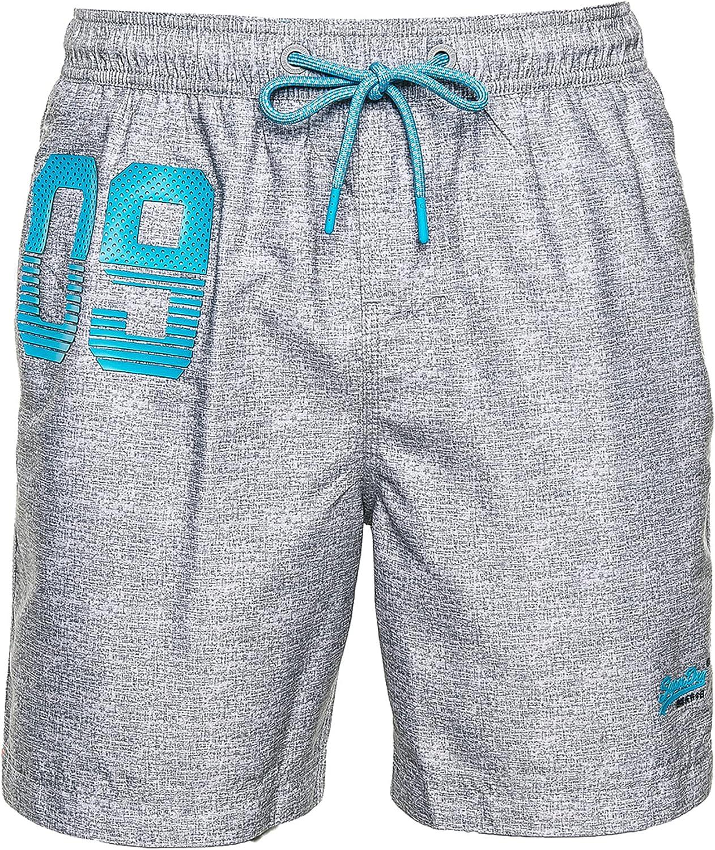 Superdry Waterpolo Swim Short Pantalones Cortos para Hombre