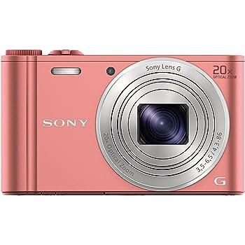 ソニー デジタルカメラ Cyber-shot WX350 光学20倍 ピンク DSC-WX350-P