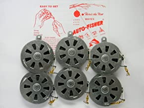 6 White's Auto Fisher Yo Yo Automatic Fishing Reel - Package of 1/2 Dozen YoYos - Yo Yo Fish Trap
