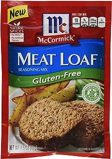 McCormick Gluten Free Meatloaf Seasoning, 1.5 Oz, Pack of 12