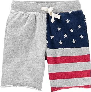 american flag boy shorts