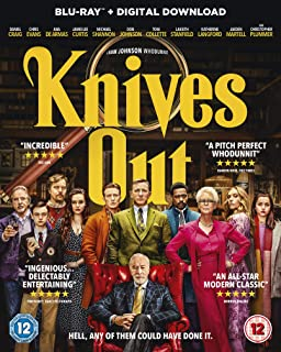 Knives Out [Blu-ray] [2019] UK IMPORT