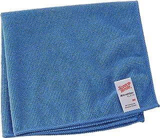 3M Scotch-Brite 421749Scotch-Brite Chiffon microfibre, Essent Eco 2012Lot, 360mm x 360mm, bleu (10)