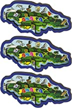 Jamaica 3D Carved Magnets - Refrigerator Magnets 3 Pack - Makes a Great Collectible Souvenir or Gift! …