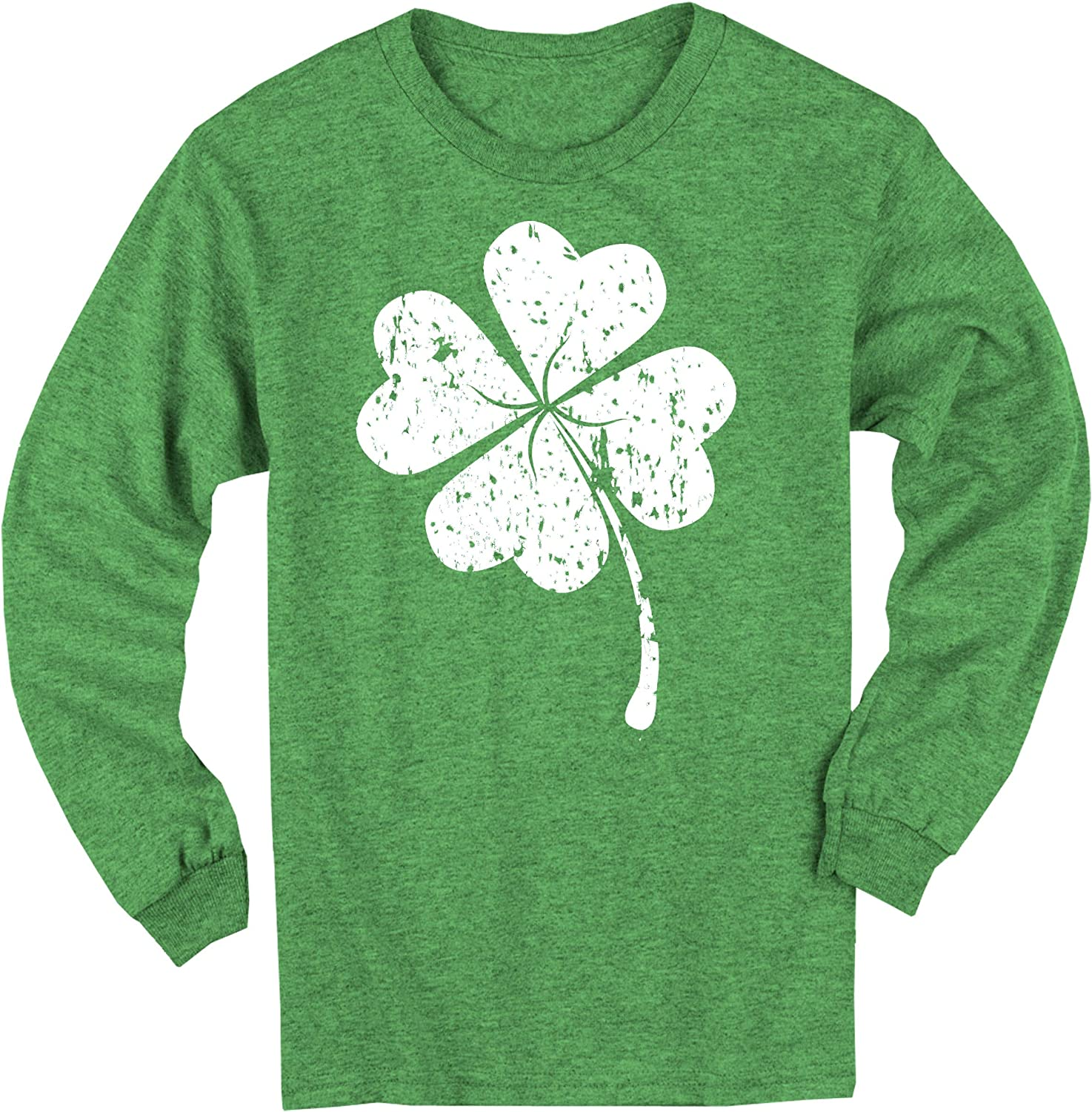 Happy Family Clothing Kids New products world's highest Credence quality popular Lucky Four Long T- Leaf Sleeve Clover