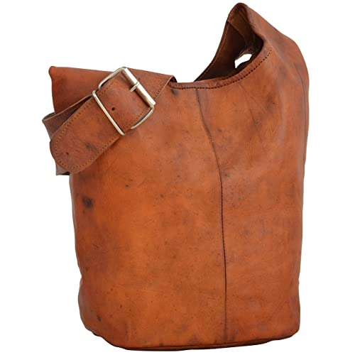 Leather Shopper Gusti Leder nature