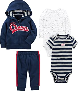 Simple Joys by Carter's Baby Boys' 4-Piece Jacket, Pant, and Bodysuit Set