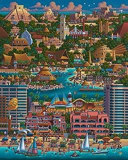 Cancun - 1000pc Jigsaw Puzzle By Dowdle Folk Art