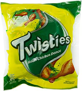 Twisties Chicken Dance Snack, 120g (Pack of 8)