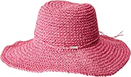 Steve Madden - Crochet Cowboy Hat with Ties