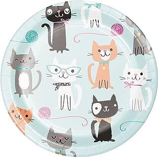cat dessert plates