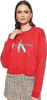 سترة نسائية من Calvin Klein جينز بلون فضي