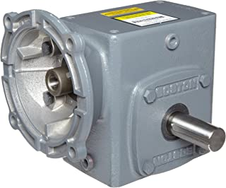 Boston Gear F72125KB5G Right Angle Gearbox, NEMA 56C Flange Input, Right Output, 25:1 Ratio, 2.06