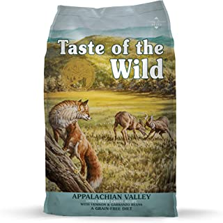 Taste of The Wild Grain Free High Protein Dry Dog Food Appalachian Valley Small Breed with Venison & Garbanzo Beans 12.7kg