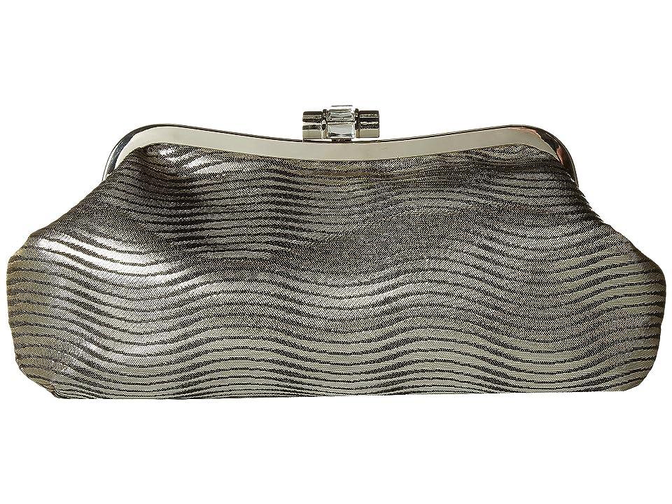 Nina Gadsden (Black Metallic) Clutch Handbags
