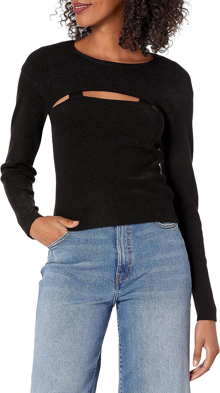 The Drop Women's Nomi Cut-Out Sweater