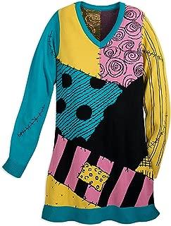 Sally Sweater Dress for Women - Nightmare Before Christmas Multi