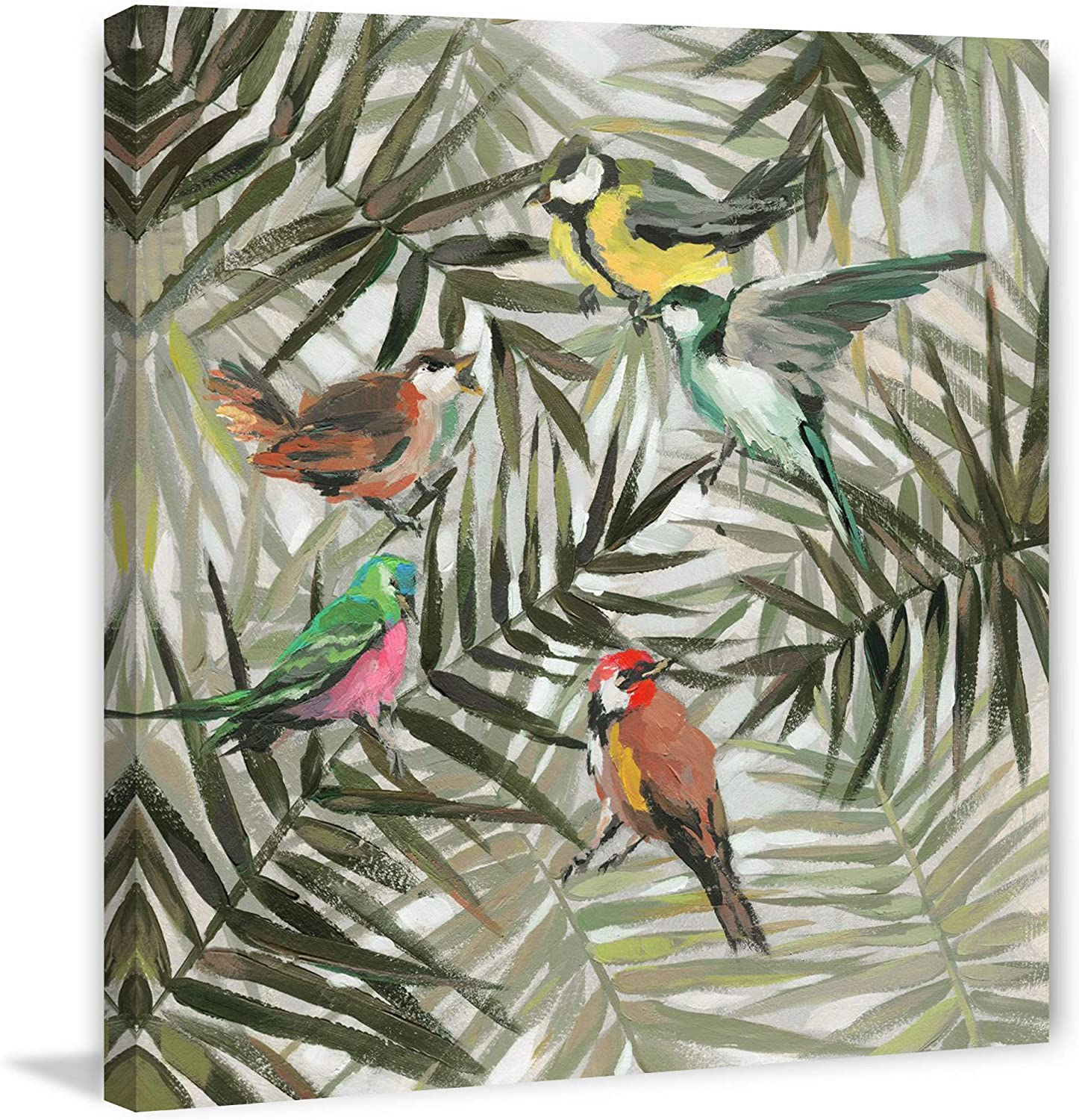 Marmont Hill The Joy in Jungle Print II Wrapped Painting on Surprise price Sale item