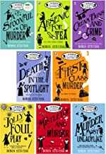 A Murder Most Unladylike Collection 8 Books Set (Cream Buns and Crime, Jollyfoul Play, First Class Murder, Murder Most Unladylike, Mistletoe...)