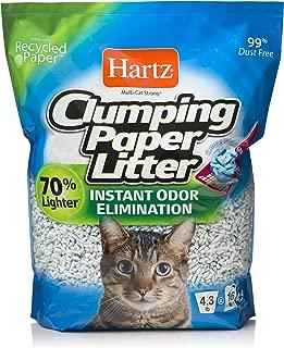 clumping paper litter